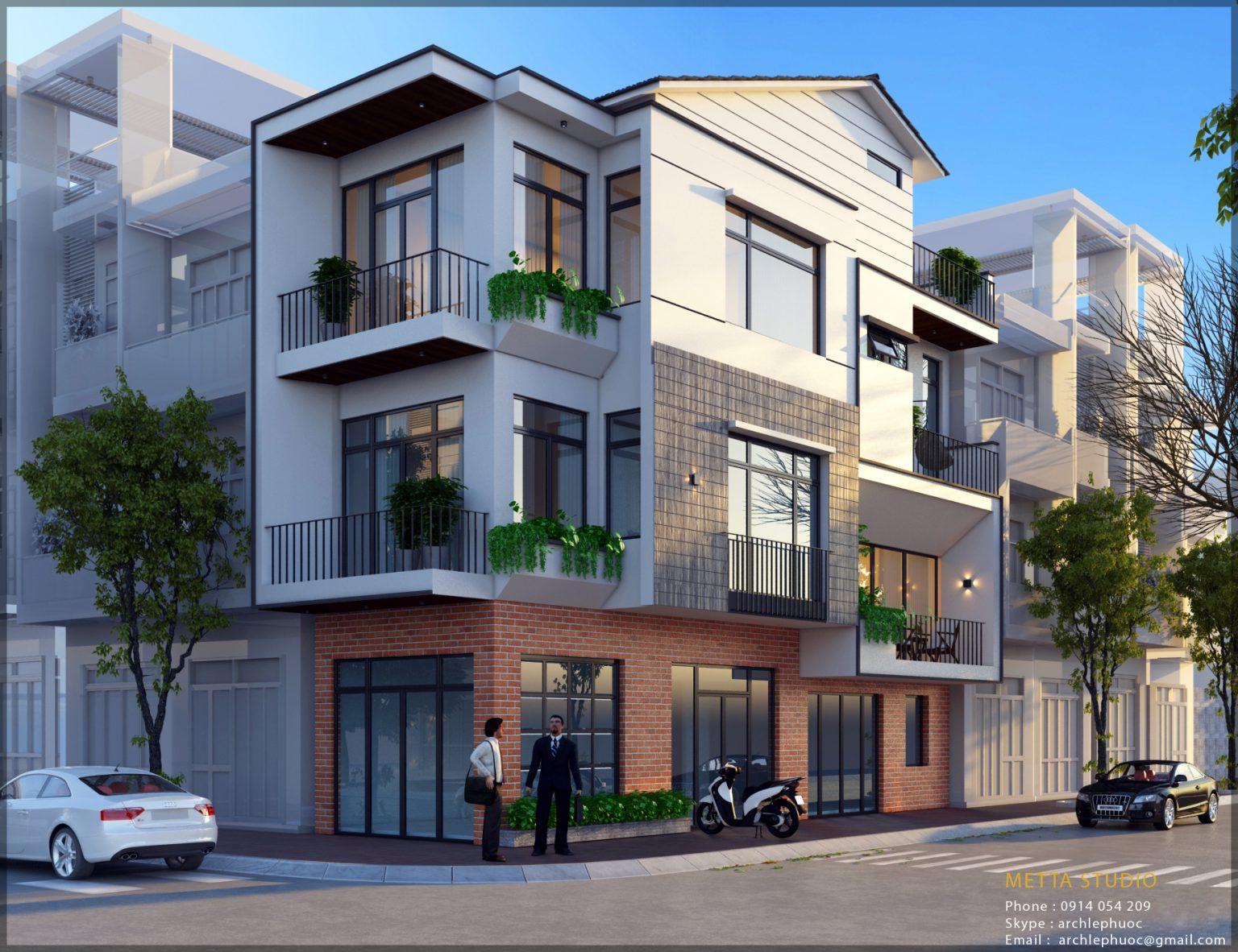 Thiết kế và thi công Metta Studio - Tiết kiệm chi phí khi xây nhà