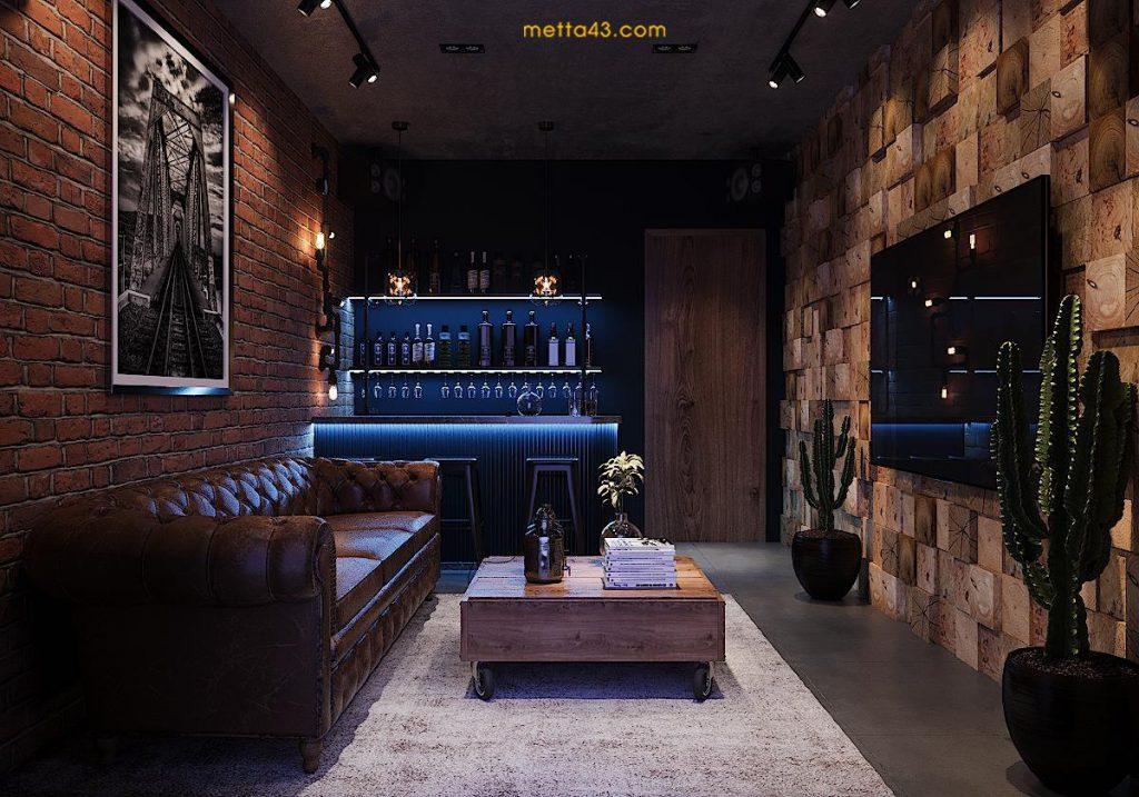 quầy bar - không gian thư giãn