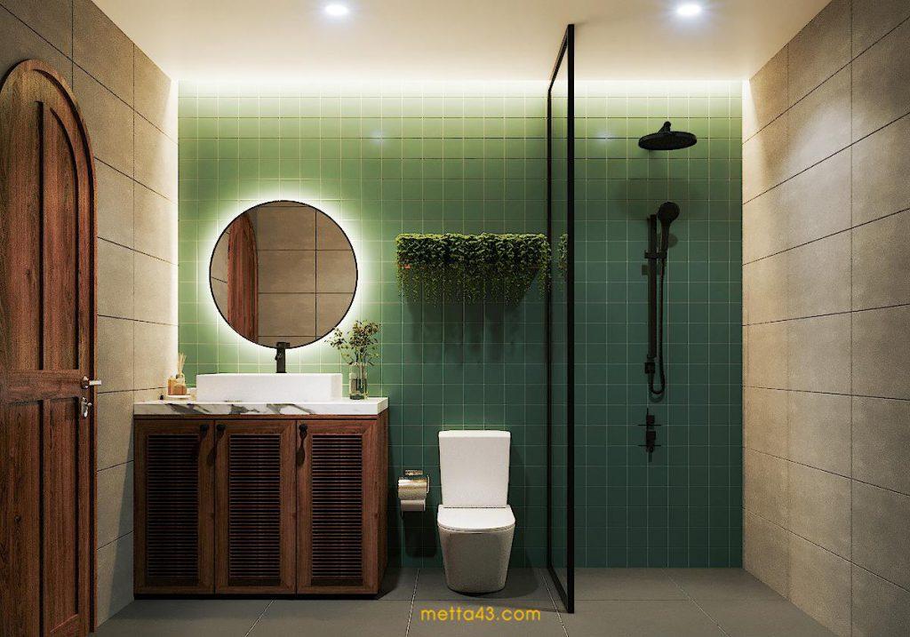 Không gian phòng vệ sinh - Metta studio
