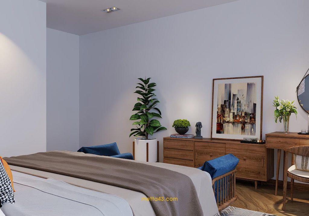 Thiết kế nội thất cho phòng ngủ thư giãn